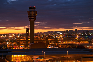Car service to Phoenix Sky Harbor Airport, Mesa Gateway Airport, and phoenix area airports